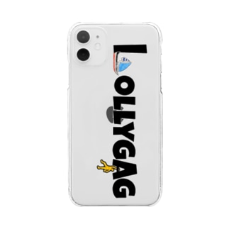 LOLLYGAG Clear smartphone cases