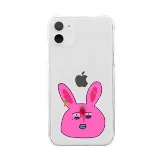 用心棒ちゃん Clear smartphone cases