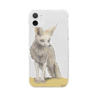 フェネック Clear smartphone cases
