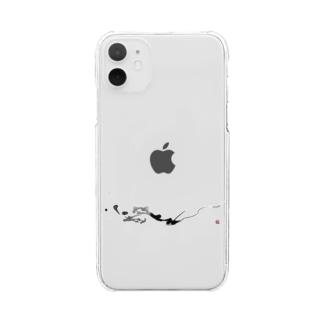 龍 =dragon= Clear smartphone cases
