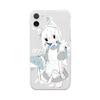 てんし。 Clear smartphone cases