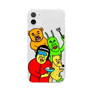 映画「蛍」 Clear smartphone cases