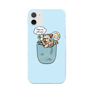 Cocker Spaniel ShopのTake me with you! Clear smartphone cases