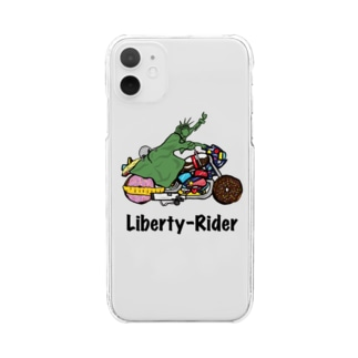 Liberty-Rider Clear smartphone cases