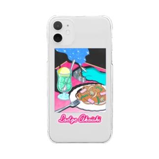 ナポリタン Clear smartphone cases