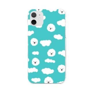 ビジョンくん Clear smartphone cases