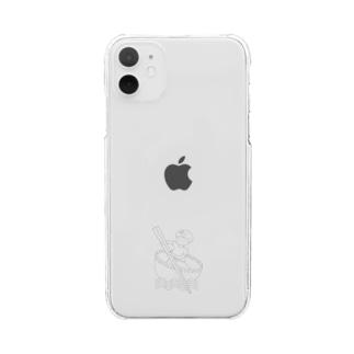 Studio512 ラーメン法師 Clear smartphone cases