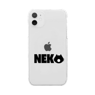 NE-KO Clear smartphone cases