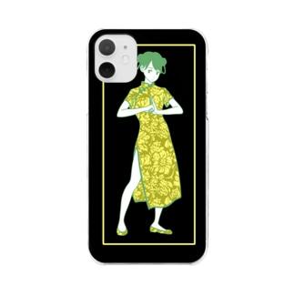 カンフーガール(11用) Clear Smartphone Case