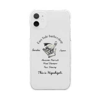kasashoのBarber Clear smartphone cases