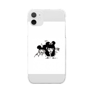 09rinkaの💞 Clear smartphone cases