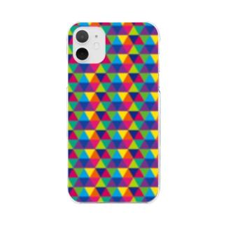 Yamachan0201のレインボー Clear smartphone cases