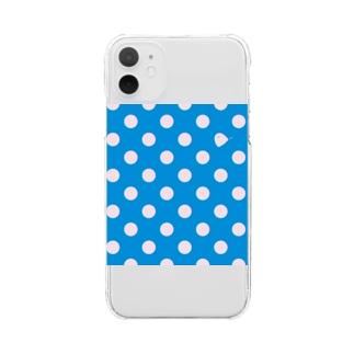 MIZUTAMA OBAKE Clear smartphone cases