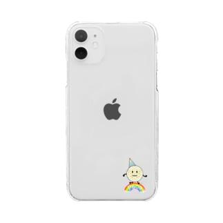 ぱぁちぇ Clear smartphone cases