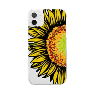 hima-wari Clear smartphone cases