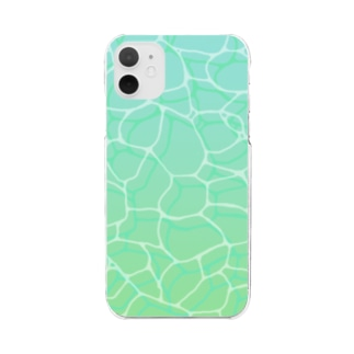 doruboyのpool2 Clear smartphone cases