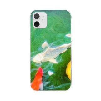 鯉 Clear smartphone cases