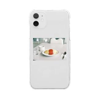 旅先のオムライス Clear smartphone cases