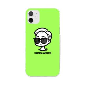 【sono/ta】SUNGLASSES_2.3 Clear smartphone cases