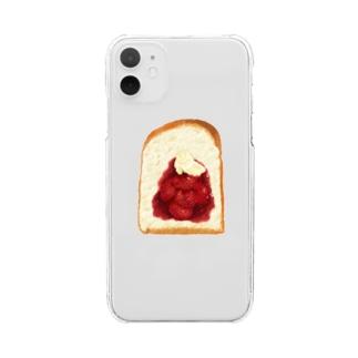 ジャムパン Clear smartphone cases