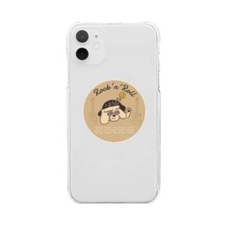 ステイホームフェスティバル Clear smartphone cases
