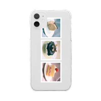 愛しのケーキ信号 Clear smartphone cases