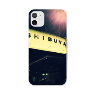 SHIBUYA traditional  Clear smartphone cases