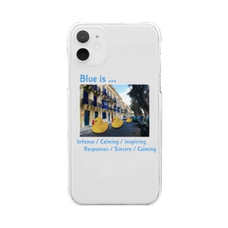 Blue is... Clear smartphone cases