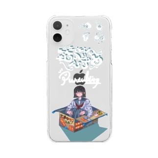 エイエンの箱入りむすめ Clear smartphone cases