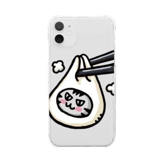 つままれ小籠包ボン Clear smartphone cases
