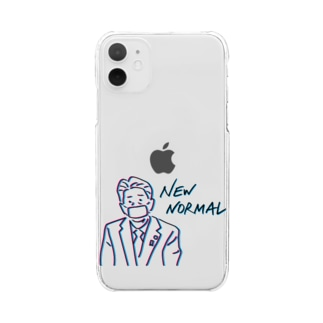 NEW NORMAL Clear smartphone cases