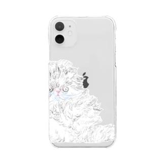 migru cat Clear smartphone cases