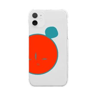 パンダ Clear smartphone cases