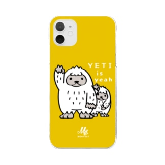 CT94 YETI is yeah*C2488 Clear smartphone cases
