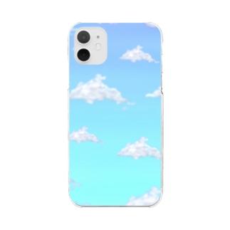 青い空。 Clear smartphone cases