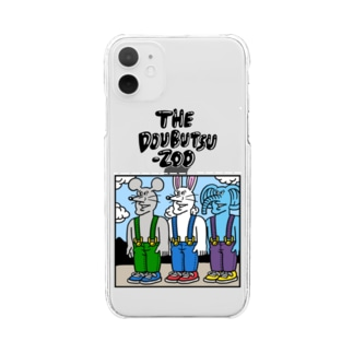 THE DOUBUTSU-ZOO Clear smartphone cases