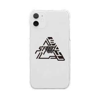 SAUL kuro Clear smartphone cases