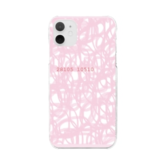 Pink Rose 28105 10510 Clear smartphone cases