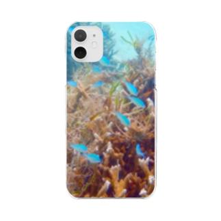 楽園の魚たち Clear Smartphone Case