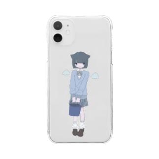 天☆罰 Clear smartphone cases