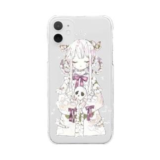 umiのリリィの願い Clear smartphone cases