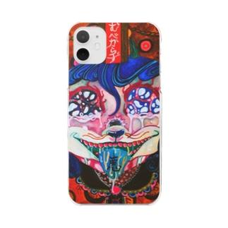 憎悪の神様 Clear smartphone cases