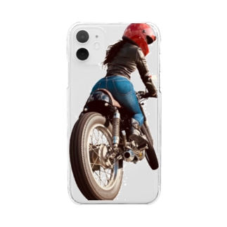 BiKetz  GB250 カフェレーサー Clear smartphone cases