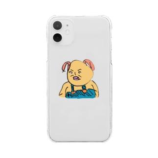 精進せい家(しょうじんせいや) Clear smartphone cases