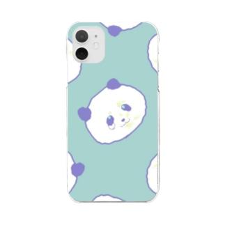 くじパンダ Ver.002 Clear Smartphone Case