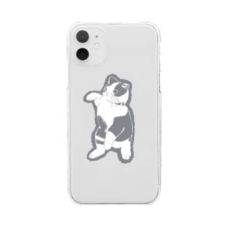 ウォル Clear smartphone cases