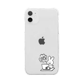 わたし Clear Smartphone Case