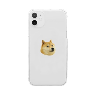 Doge Clear smartphone cases