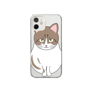 福餅くんダヨ Clear smartphone cases