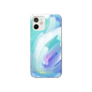波 Clear smartphone cases